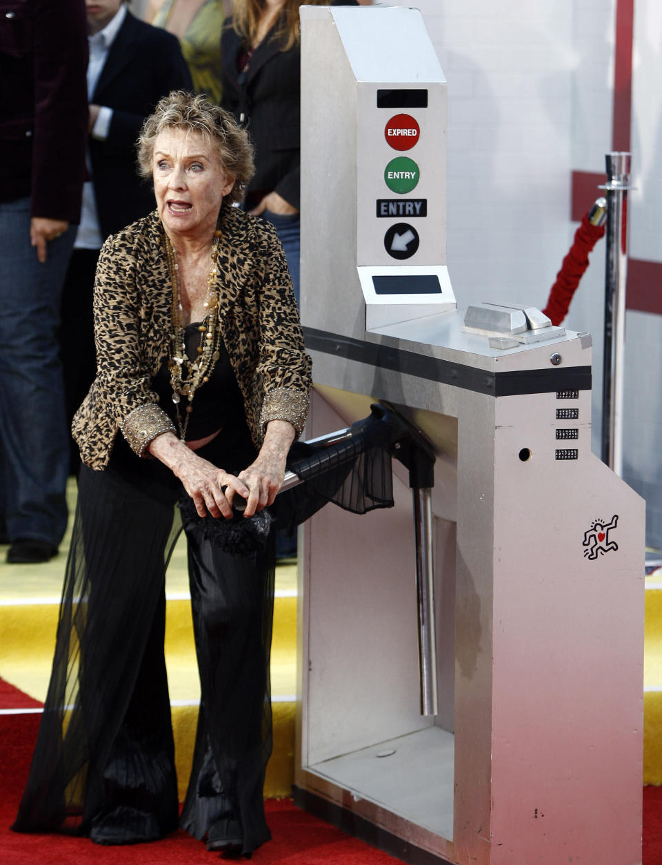 "FILE - Actress Cloris Leachman arrives at the premiere of ""The Taking of Pelham 1 2 3"" in Los Angeles on June 4, 2009. Leachman, a character actor whose depth of talent brought her an Oscar for the ""The Last Picture Show"" and Emmys for her comedic work in ""The Mary Tyler Moore Show"" and other TV series, has died. She was 94. (AP Photo/Matt Sayles, File)"