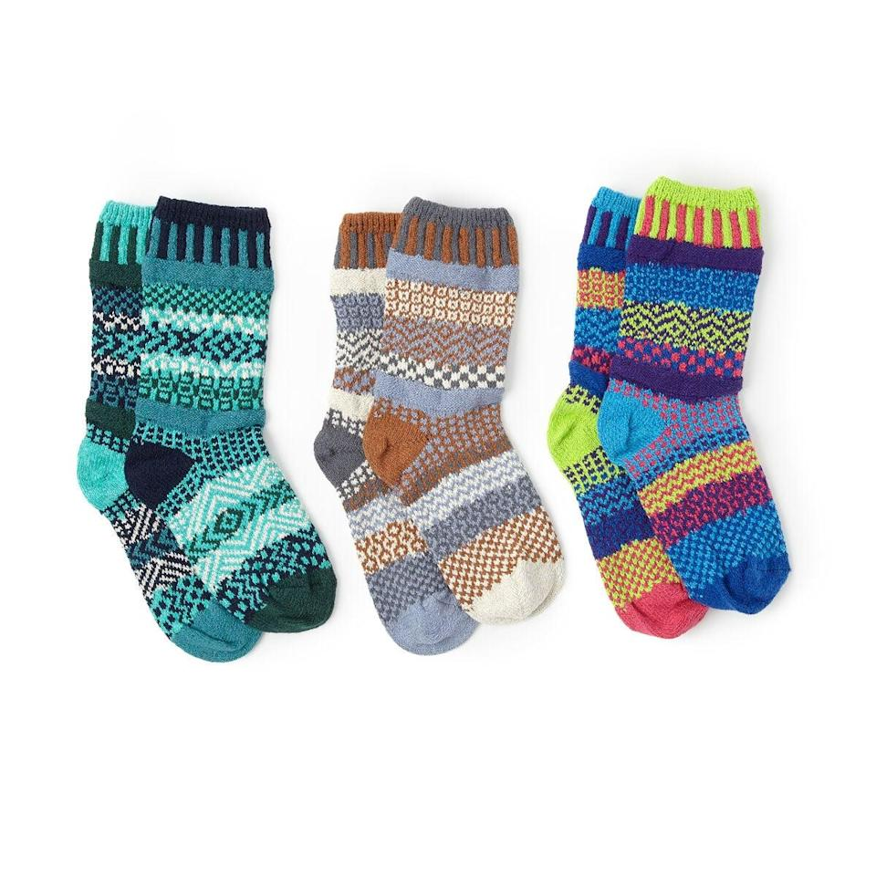 <p>These <span>Mismatched Crew Socks</span> ($20) are perfect for the men who constantly mismatch their socks.</p>