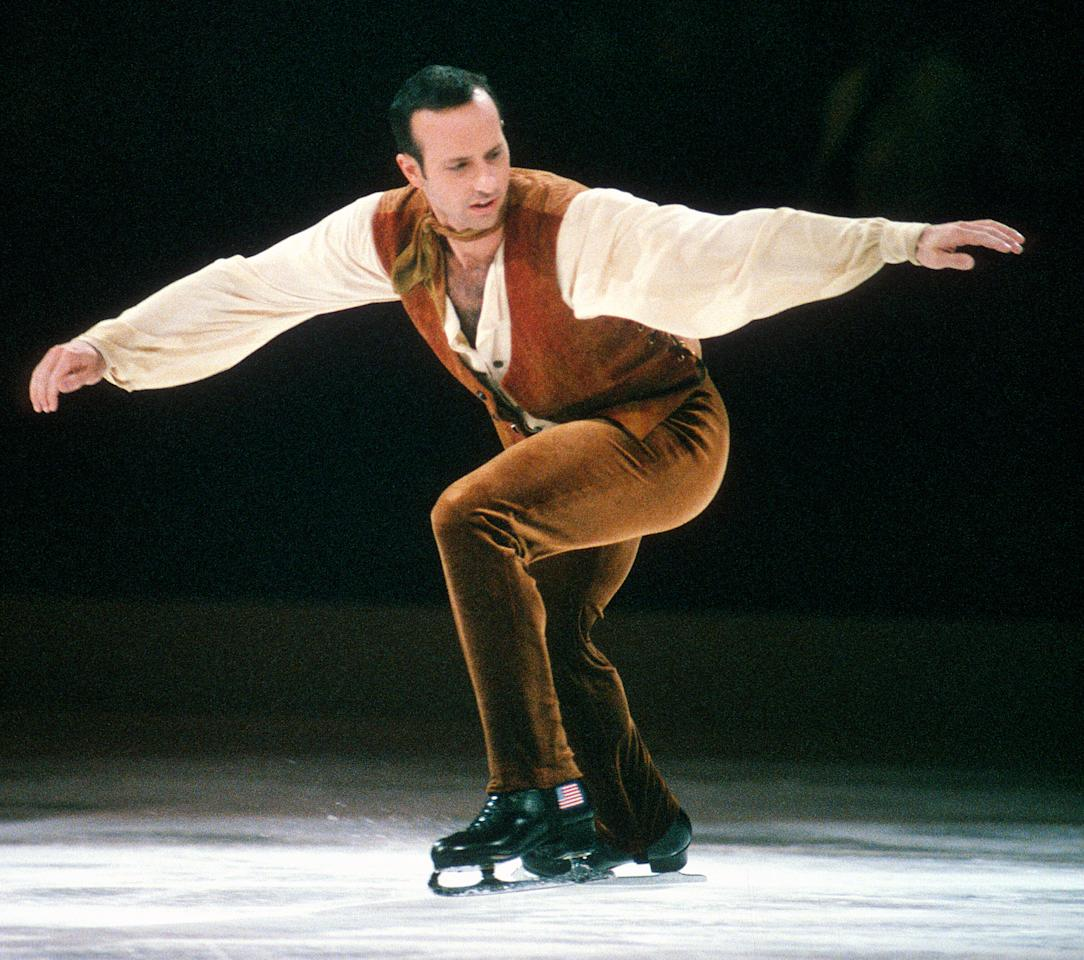 """<p>Boitano is an American singles skater who won gold at the 1988 Winter Olympics in Calgary, Canada, against intense competition from Brian Orser (the first man to land a triple axel at the Olympics) in a face-off that has been dubbed the <a rel=""""nofollow"""" href=""""http://www.nbcolympics.com/news/1988-brian-boitano-brian-orser-align-battle-brians"""">""""Battle of the Brians.""""</a> This Olympic duel was called """"the single greatest athletic battle"""" of the year's Games by the International Olympic Committee.</p> <p>Both Brians were effectively tied going into the free program, but Boitano landed eight triple jumps in a single program and took home the gold.</p>"""