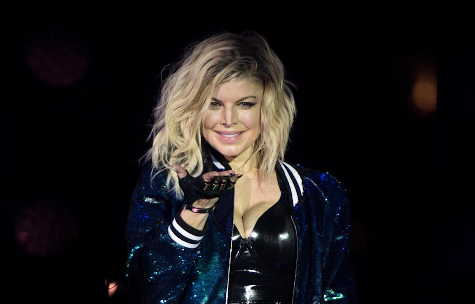NEW YORK, NY – JUNE 26: Fergie performs on stage during New York City Pride 2016 – Dance On The Pier on June 26, 2016 in New York City. (Photo by Noam Galai/WireImage)
