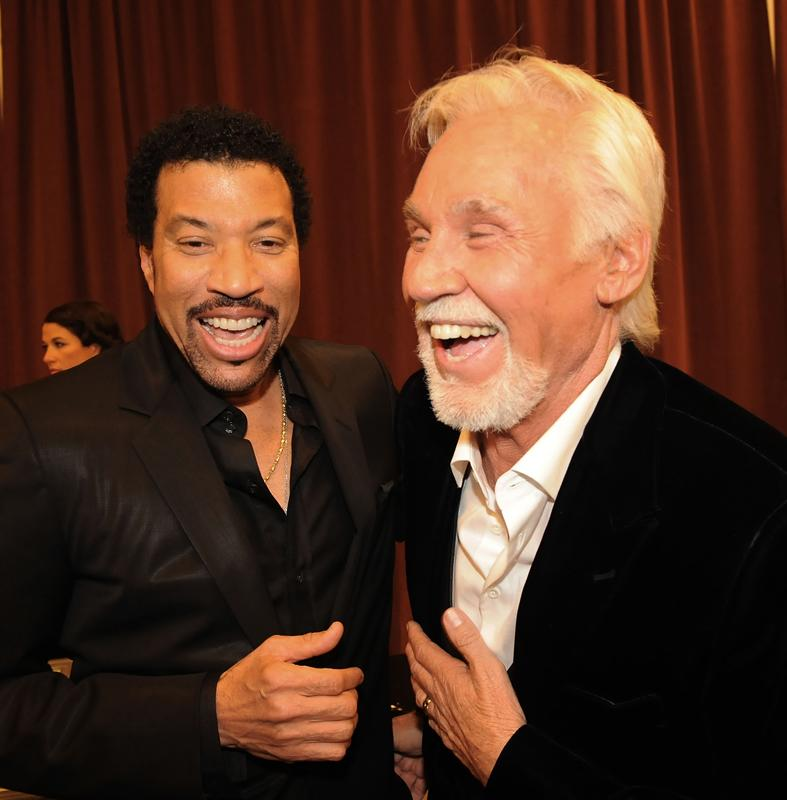 """Lionel Richie and Kenny Rogers, """"Kenny Rogers: The First 50 Years Show"""""""