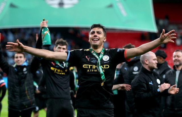 Rodri was on the scoresheet as City beat Aston Villa last year