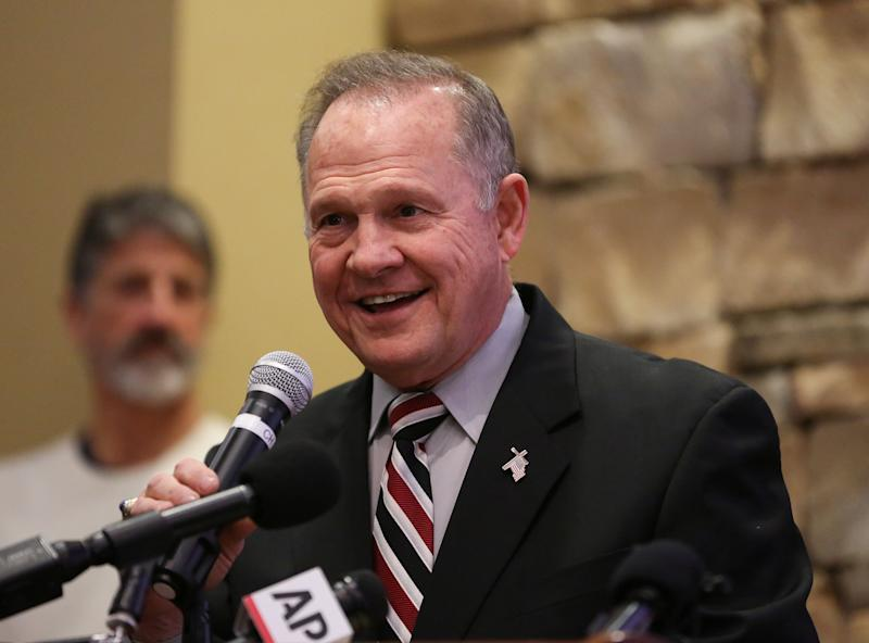Roy Moore is the former chief justice of the Alabama Supreme Court. (Marvin Gentry / Reuters)