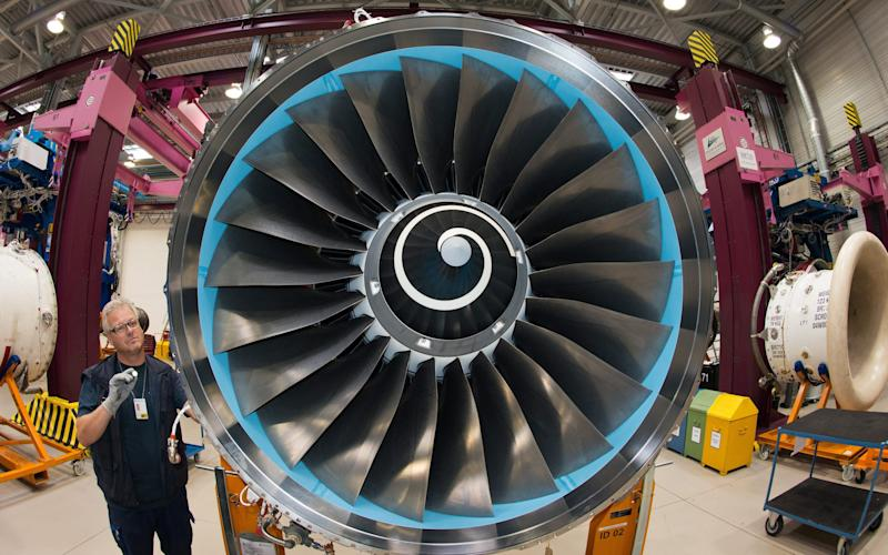 Rolls-Royce's Trent 1000 engine has caused groundings for several airlines - EPA