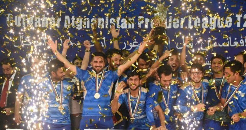 The Balkh Legends emerged as the Winners of the Afghanistan Premier League 2018