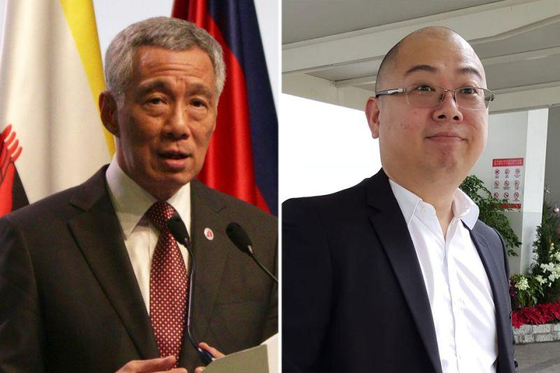PM Lee Hsien Loong (left) and TOC chief editor Terry Xu. (PHOTOS: Yahoo News Singapore, Terry Xu/Facebook)