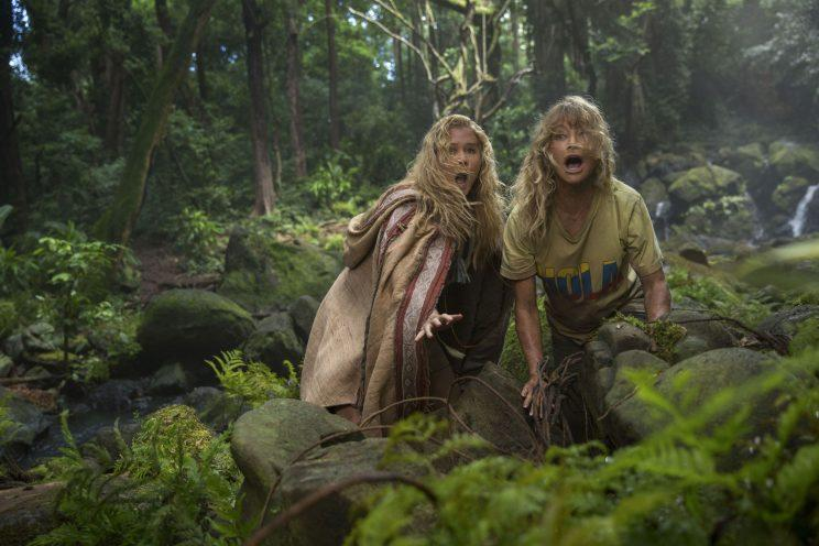 Goldie Hawn with Amy Schumer in <em>Snatched.</em> (Photo: Justina Mintz)