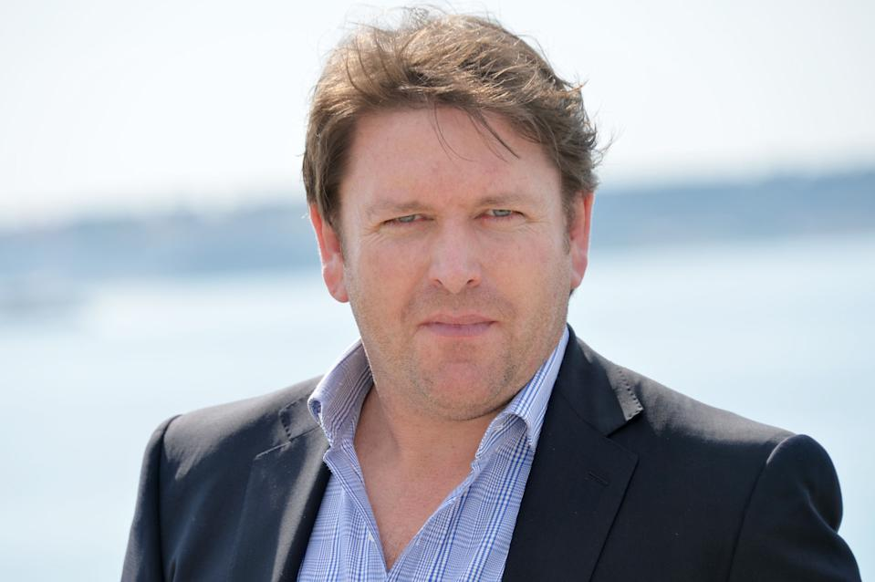 CANNES, FRANCE - APRIL 03:  Chef James Martin attends the 'James Martin's French Adventure' photocall at La Rotonde on April 3, 2017 in Cannes, France.  (Photo by Eric Catarina/Getty Images)
