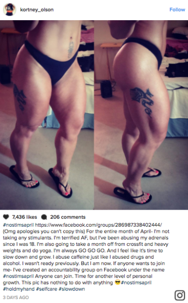 "Kortney Olsen, known for her ""World's Deadliest Thighs,"" admits she has cellulite — and embraces it."