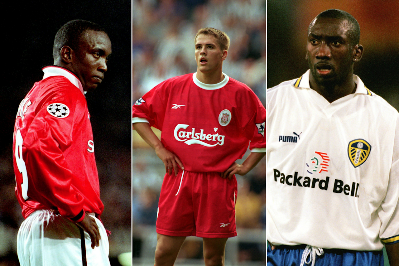 <p>Dwight Yorke (Manchester United), Michael Owen (Liverpool), and Jimmy Floyd Hasselbaink (Leeds) all netted 18 goals in the League. United, led by Dwight Yorke, claimed the title. </p>