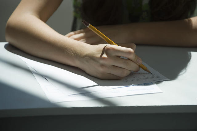 Could pen and paper exams soon be a thing of the past? (Getty Images)