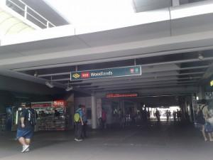 woodlands mrt station