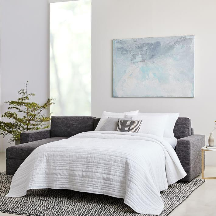 """<p><strong>West Elm</strong></p><p>westelm.com</p><p><a href=""""https://go.redirectingat.com?id=74968X1596630&url=https%3A%2F%2Fwww.westelm.com%2Fproducts%2Furban-sleep-store-sectional-h2927&sref=https%3A%2F%2Fwww.housebeautiful.com%2Fshopping%2Fg33337693%2Fwest-elm-is-having-a-huge-summer-saleheres-what-to-buy%2F"""" rel=""""nofollow noopener"""" target=""""_blank"""" data-ylk=""""slk:Shop Now"""" class=""""link rapid-noclick-resp"""">Shop Now</a></p><p><del>$3,498</del><strong><br>$2,798.40</strong></p><p>Sure, you wouldn't replace your sofa on a whim; however, this deal is simply too good to pass up. Plus, it has a pull-out bed so your friends will always have a place to crash. </p>"""