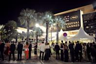 This file photo shows people arriving for the screening of US director Steven Spielberg's film 'Indiana Jones and the Kingdom of the Crystal Skull' at the 61st Cannes International Film Festival, on May 18, 2008. Spielberg will head up this year's Cannes Film Festival jury, the organisers announced on Thursday, just days after he missed out on a third best director Oscar