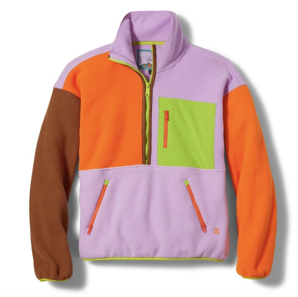"""<p><span>X Karla and Eddie Bauer Fleece</span> ($99)</p> <p>""""Celebrity stylist Karla Welch just released a collection with Eddie Bauer and it's giving me a hefty dose of nostalgia. I love the '80s vibe of this fleece."""" - Nikita Charuza, editor, fashion</p>"""