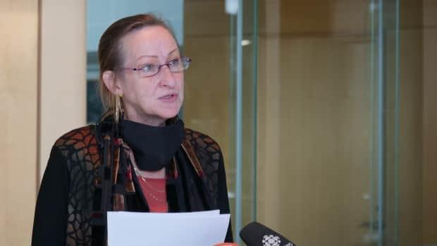 N.W.T. Premier Caroline Cochrane said there will be consequences for those who get caught breaking COVID-19 public health orders. She also urged people to show compassion and kindness to those who have the disease. (Mario De Ciccio/Radio-Canada - image credit)