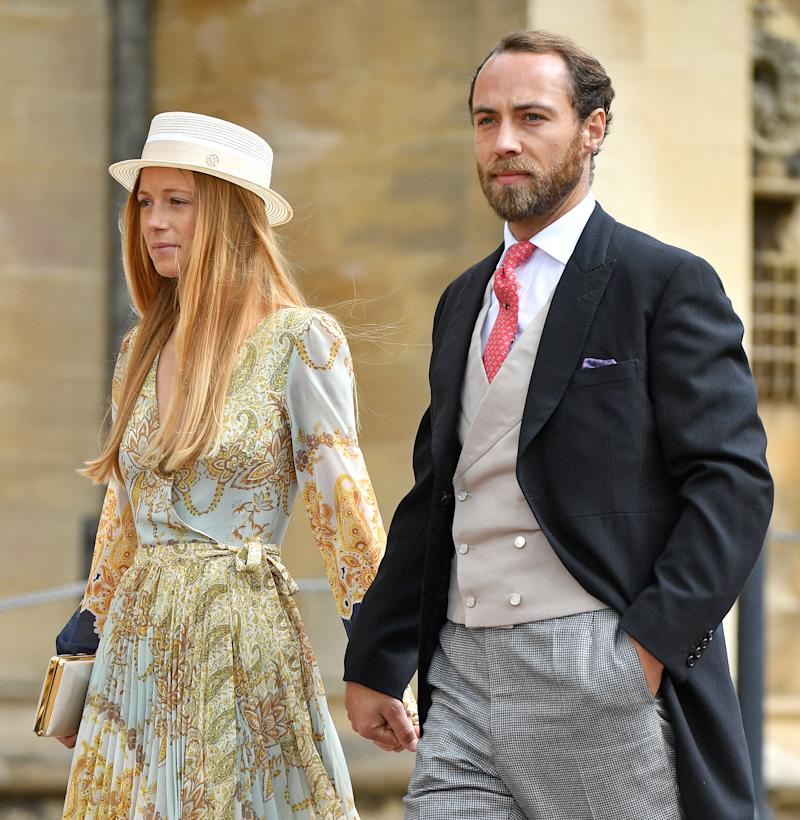 Alizee Thevenet and James Middleton had been due to wed this summer. (Getty Images)