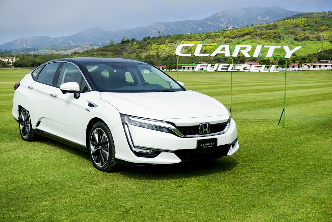 If you live where the hydrogen stations are, Honda's new Clarity is an excellent choice, especially when you realize that Honda's giving them away.