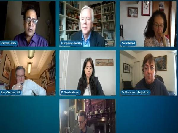 London-based NGO The Democracy Forum hosted a virtual seminar on September 14 -- titled 'Afghanistan: Filling the Void'. (Photo Credit: The Democracy Forum Youtube)
