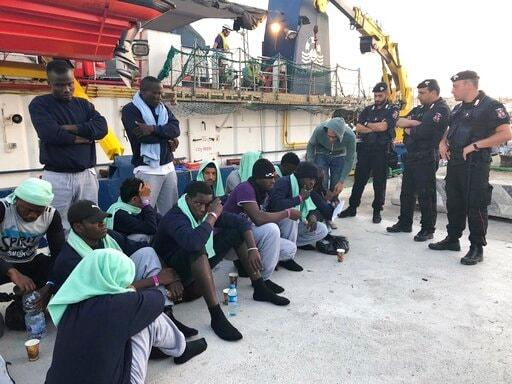 Migrants increasingly reaching Italy by sea from Tunisia