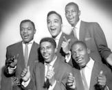 """<p>The Drifters were formed in 1953 and saw a number of changes through the years as vocalists left to purse solo careers. In 1959, <a href=""""https://www.amazon.com/There-Goes-My-Baby/dp/B001J279SY/?tag=syn-yahoo-20&ascsubtag=%5Bartid%7C10055.g.33861456%5Bsrc%7Cyahoo-us"""" rel=""""nofollow noopener"""" target=""""_blank"""" data-ylk=""""slk:""""There Goes My Baby"""""""" class=""""link rapid-noclick-resp"""">""""There Goes My Baby""""</a> soared to the top of the charts with its innovative use of strings and Latin rhythms. """"<a href=""""https://www.amazon.com/Save-Last-Dance-Me/dp/B00124A5Y4/?tag=syn-yahoo-20&ascsubtag=%5Bartid%7C10055.g.33861456%5Bsrc%7Cyahoo-us"""" rel=""""nofollow noopener"""" target=""""_blank"""" data-ylk=""""slk:Save the Last Dance for Me"""" class=""""link rapid-noclick-resp"""">Save the Last Dance for Me</a>"""" also topped the charts the next year.</p>"""