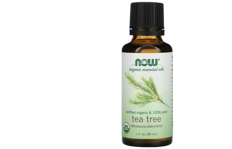 Now Foods, Organic Essential Oils, Tea Tree. (PHOTO: iHerb)