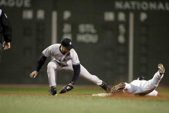 """<p><strong>October 17, 2004</strong>: The greatest comeback in baseball history started not with a bang, but a whimper—a ninth-inning walk to Boston's Kevin Millar against Yankees' all-timer Mariano Rivera in the fourth game of the American League Championship Series. It gained life, though, when pinch runner Dave Roberts audaciously stole second base. Bill Mueller's ground ball single tied the game, and the Red Sox would never look back. Their 12-inning victory staved off elimination, and set the Sox on an eight-game win streak and the team's first championship since 1918. """"Obviously being on that 2004 team leaves me with some great memories and this one really gave us momentum all the way through Game 7,""""Millar says,<br> </p>"""