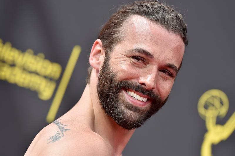 Jonathan Van Ness, pictured at the 2019 Creative Arts Emmy Awards in September, has scored the first non-female Cosmo UK cover in 35 years [Photo: Getty]