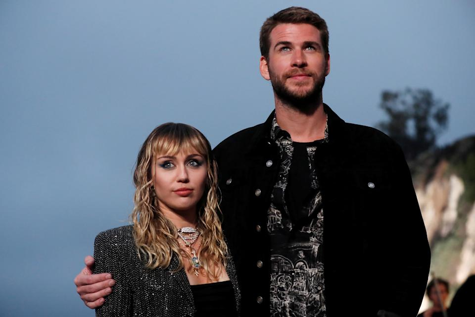 Miley Cyrus opens up about her marriage to Liam Hemsworth.
