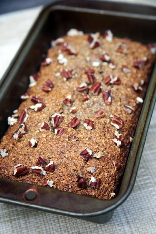 """<p><a href=""""https://www.popsugar.com/fitness/Sweet-Potato-Banana-Protein-Bread-37242511"""" class=""""ga-track"""" data-ga-category=""""Related"""" data-ga-label=""""https://www.popsugar.com/fitness/Sweet-Potato-Banana-Protein-Bread-37242511"""" data-ga-action=""""In-Line Links"""">Banana bread</a> or <a href=""""https://www.popsugar.com/fitness/Dairy-Free-Chocolate-Banana-Bread-42199657"""" class=""""ga-track"""" data-ga-category=""""Related"""" data-ga-label=""""https://www.popsugar.com/fitness/Dairy-Free-Chocolate-Banana-Bread-42199657"""" data-ga-action=""""In-Line Links"""">chocolate protein muffins</a> are itching to be made with powdered peanut butter - the flavors would complement each other so well.</p>"""