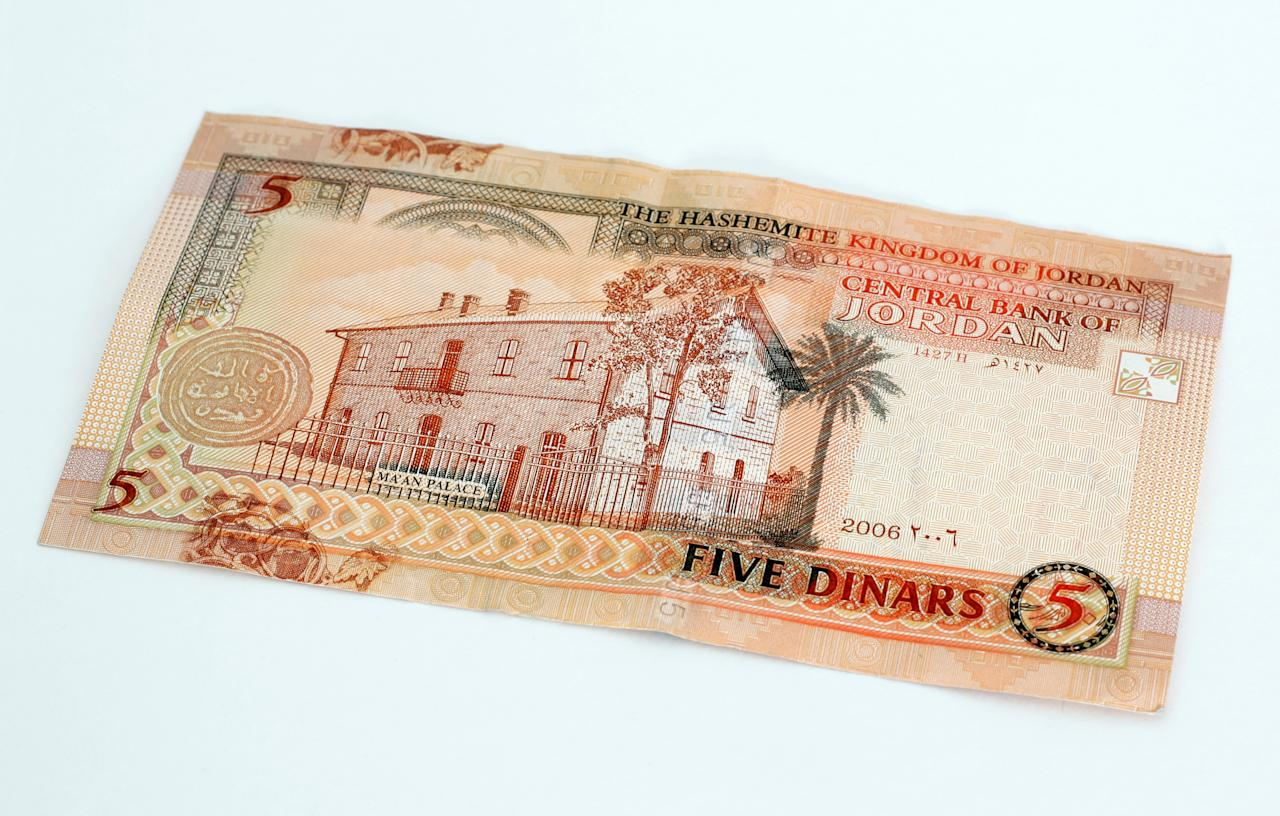 <p>Rank 4, Jordanian Dinar: The Jordanian Dinar is the currency of Jordan. The currency code for Dinars is JOD.<br />Exchanging one Jordanian currency will get you ₹101.87 or $1.41. </p>