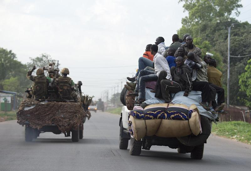 International troops have clashed with ex-Seleka rebels in a fresh outbreak of violence