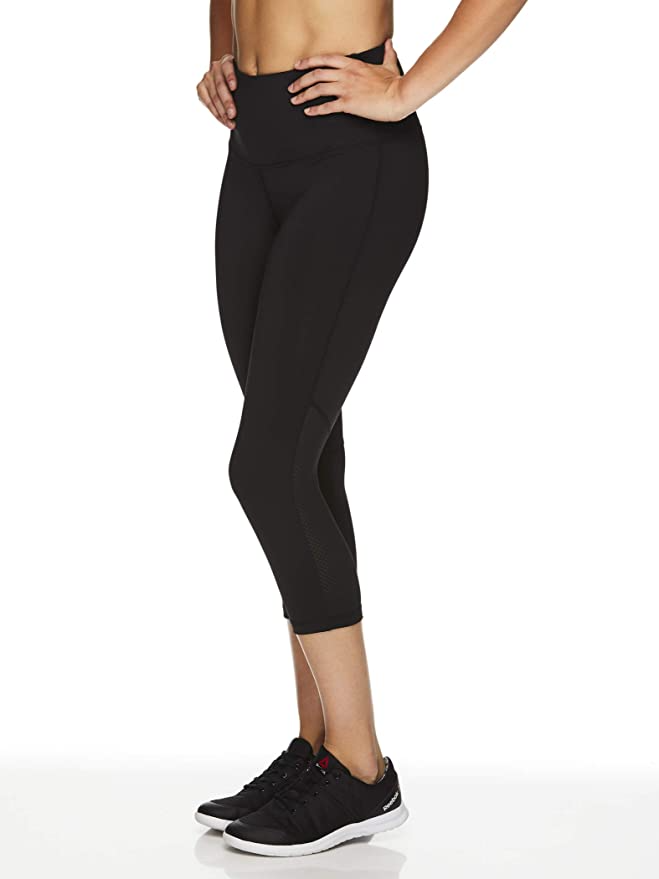 "<br><br><strong>Reebok</strong> Mid-Rise Waist Performance Compression Tights, $, available at <a href=""https://amzn.to/3lFvTvT"" rel=""nofollow noopener"" target=""_blank"" data-ylk=""slk:Amazon"" class=""link rapid-noclick-resp"">Amazon</a>"