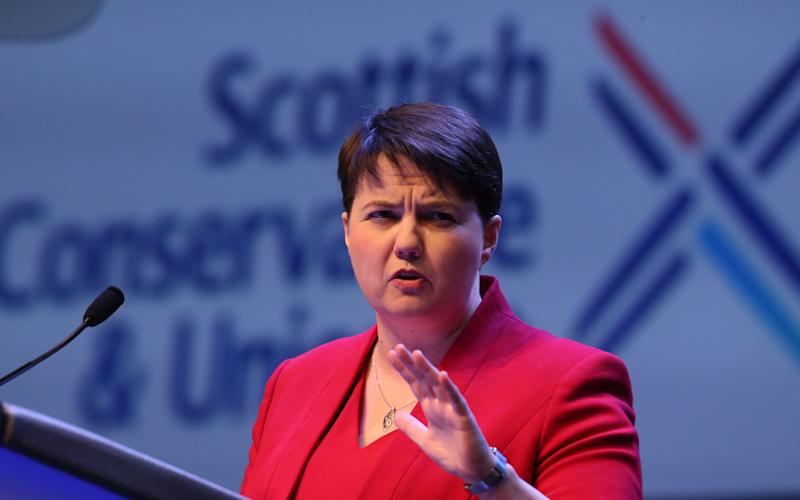 Ruth Davidson MSP, Leader of the Scottish Conservative & Unionist Party - Credit: Andrew MacColl/REX/Shutterstock