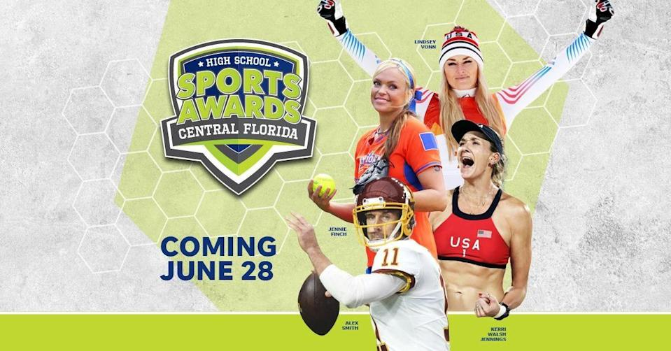 Lindsey Vonn, Alex Smith, Kerri Walsh, and The Bachelor's Matt James and Tyler Cameron, will be among a highly decorated group of presenters and guests for the Central Florida High School Sports Awards