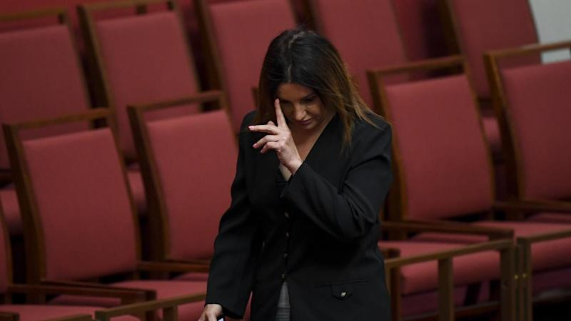 Crossbench Senator Jacqui Lambie cried as she backed the government's repeal of the medivac bill
