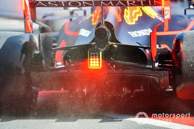 "La parte trasera del Red Bull Racing RB15 <span class=""copyright"">Mark Sutton / Sutton Images</span>"