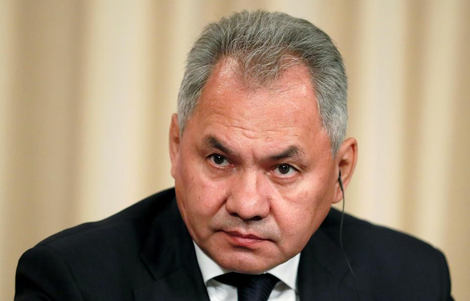 Russian defence minister Sergei Shoigu blames the current security situation in Afghanistan on the hasty US troop withdrawal (Reuters)