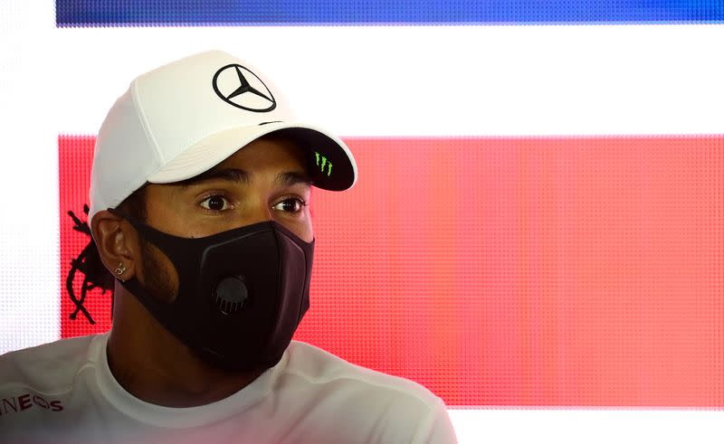 Hamilton aims to stay in F1 for at least three more years