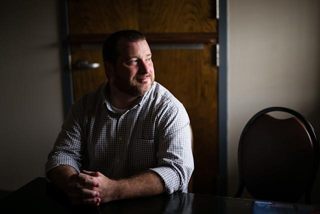 """Brandon Lackey is chief program officer at The Foundry Ministries, a Christiannonprofit that provides """"rescue, recovery and re-entry"""" programs forpeople recovering from substance abuse and living with mentalillness."""