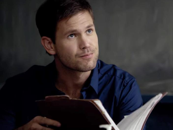 """Alaric was actually married to Elena's birth mother, Isobel. <p class=""""copyright"""">The CW</p>"""