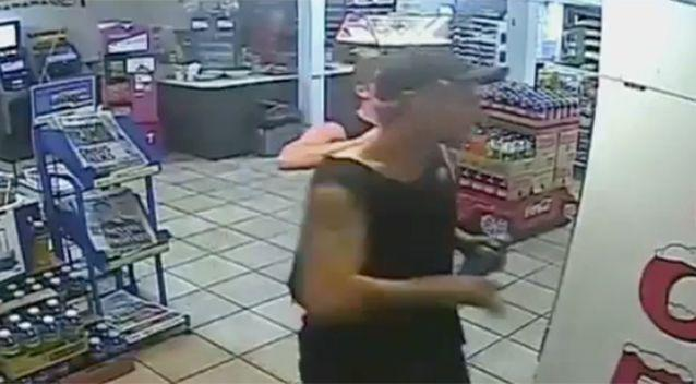 He was last seen in a service station. Source: 7 News