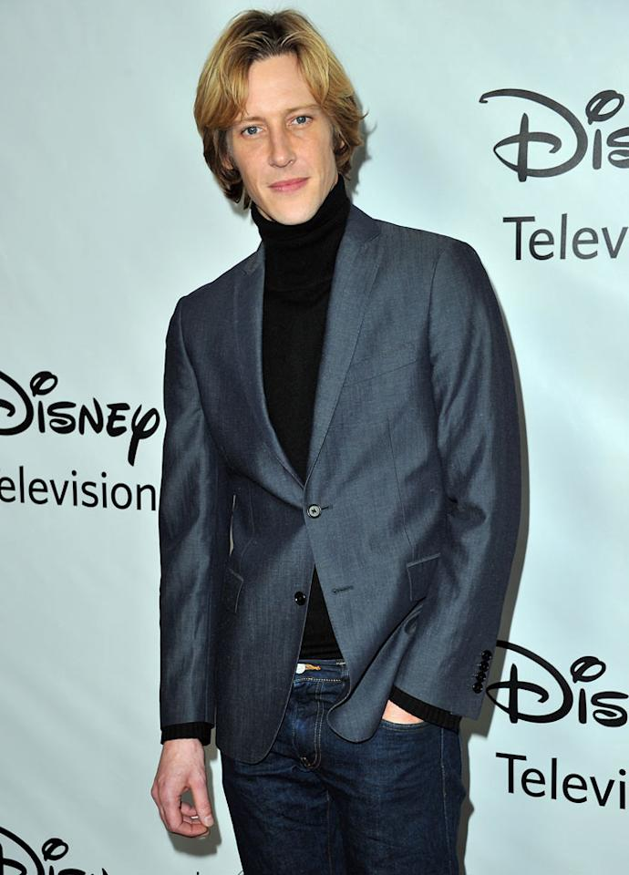 "<a href=""/gabriel-mann/contributor/32093"">Gabriel Mann</a> (""<a href=""/revenge/show/47457"">Revenge</a>"") attends the 2012 ABC Winter TCA All-Star Party at the Langham Huntington Hotel on January 10, 2012 in Pasadena, California."
