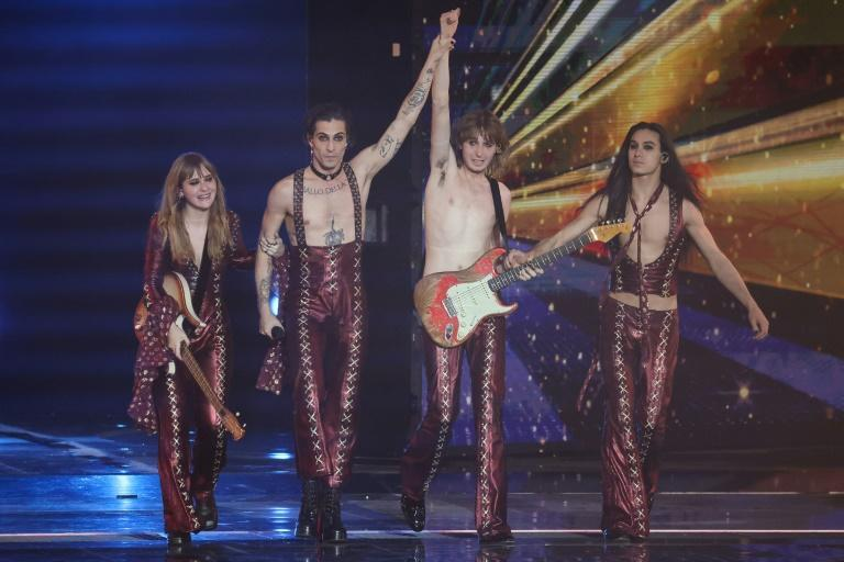 Italian rockers Maneskin won this year's Eurovision with their song 'Zitti e Buoni'