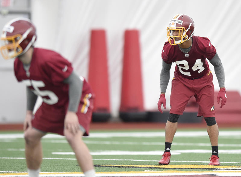 Josh Norman's brother Marrio gets Redskins rookie camp cameo