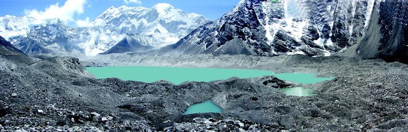 Imja Tsho, located at an altitude of 5,010 metres (16,437 feet), is the fastest-growing glacial lake in Nepal (AFP Photo/)