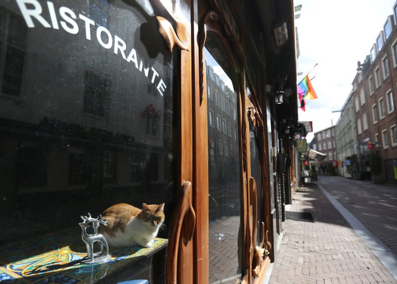 Cafes and restaurants in Amsterdam stay closed as Netherlands face prospect of extended lockdown