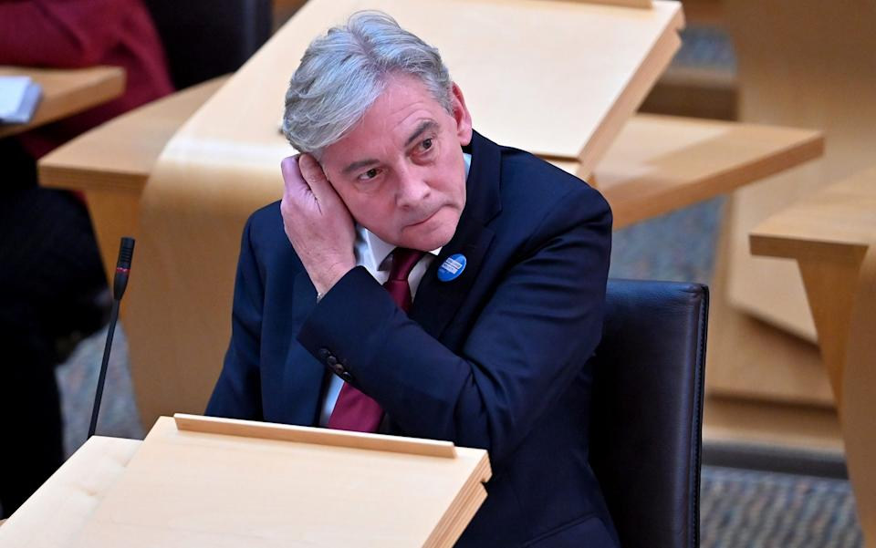 Richard Leonard said he feared the public would become confused - Jeff J mitchell/Getty