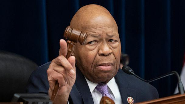 FILE - In this Tuesday, April 2, 2109 file photo, House Oversight and Reform Committee Chair Elijah Cummings, D-Md., leads a meeting to call for subpoenas on Capitol Hill in Washington. (J. Scott Applewhite/AP)
