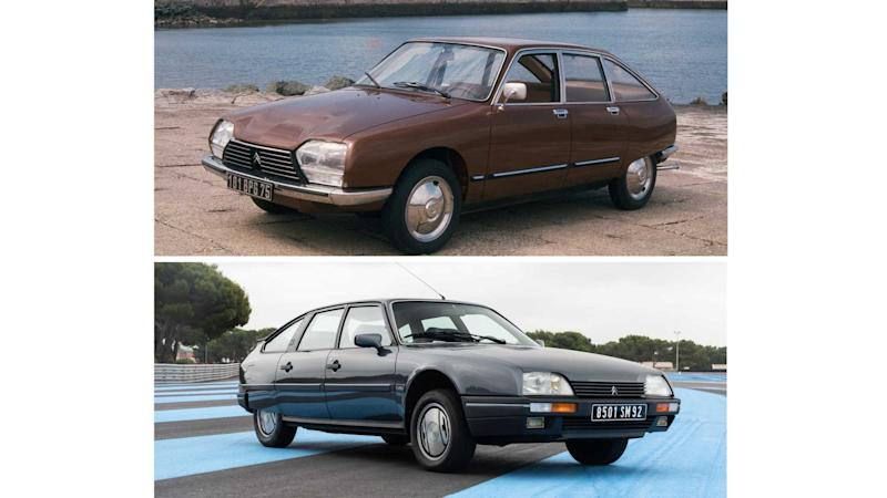 Citroen GS und CX (Collage)